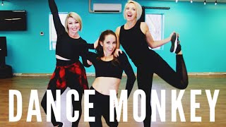 Dance Monkey - Tones and I | Dance Cardio  Zumba Workout |  ft. TyAnn Clark, Leesha Gubler, Amber