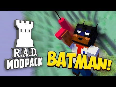 JAG ÄR BATMAN! | R.A.D Minecraft - #14 thumbnail