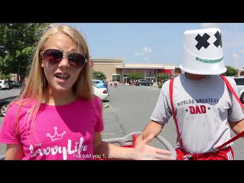 Marshmello & Anne-Marie FRIENDS PARODY - Awkward Dad & Teen Music Video