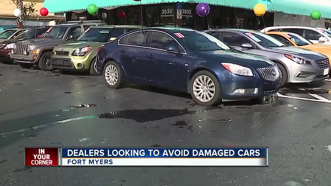 Dealers looking to avoid damaged cars - YouTube