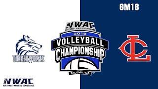 2018 NWAC Volleyball Championship - GM18 Blue Mountain vs. TBD thumbnail