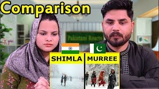 Pakistani Reacts To | Shimla vs Murree Full Hill Station Comparison UNBIASED 2018