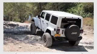 Jeep RUBICON Wrangler 🦅 Off Road Rocks / טיולי שטח בצפון חורשן