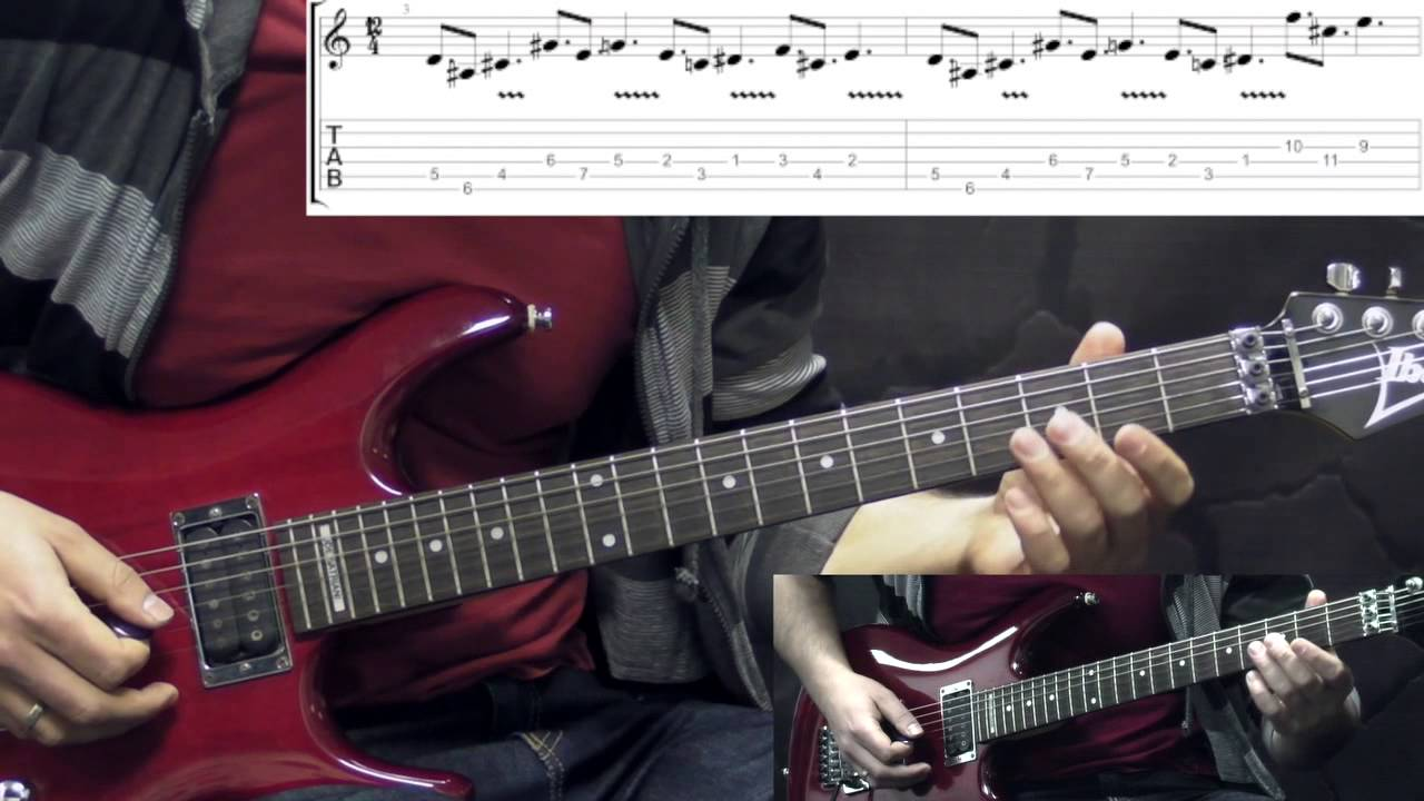 Death Pull The Plug Metal Guitar Lesson With Tabs Youtube Wiring A