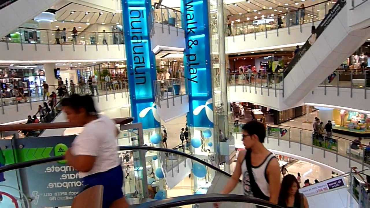 Central World Shopping In Bangkok