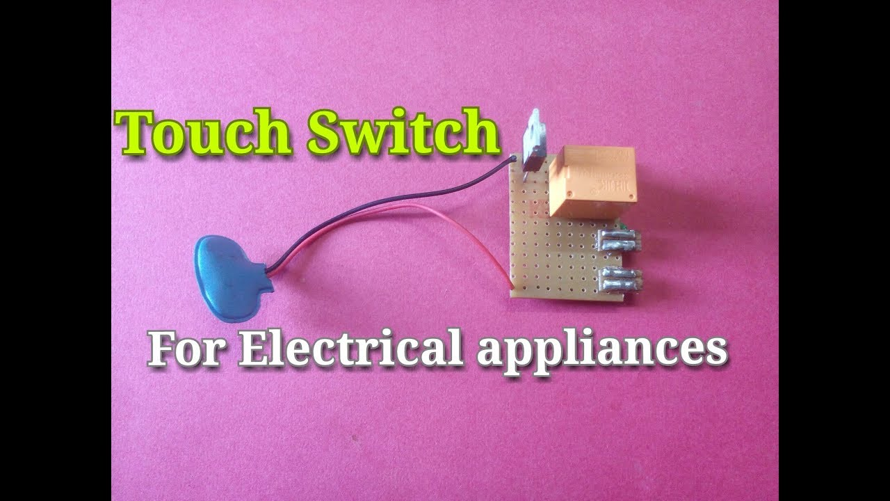 Touch Switch For Electrical Appliancessimple Sensor Using Cd4011 Electronic Circuits And Diagram Circuitsimple Processeasy Way