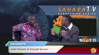 SaharaTV Sept.29 Interview with Dede Mabiaku