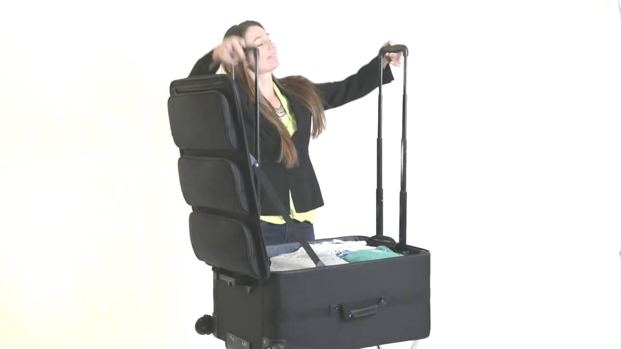 ShelfPack   Portable Closet Suitcase