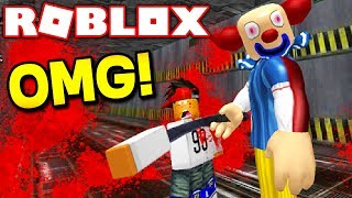 SURVIVE PSYCHO CLOWNS IN AREA 51 IN ROBLOX! (Roblox Area 51)