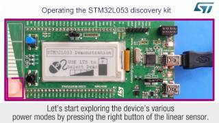 getting started with stm32l0 discovery kit