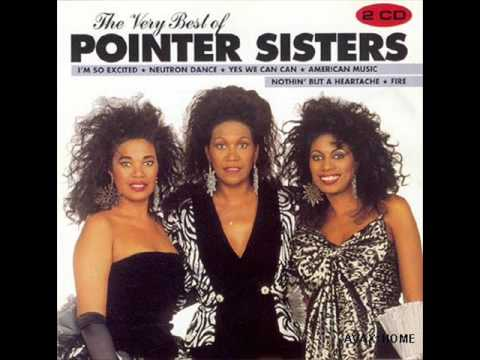 The pointer sisters  Im so excited