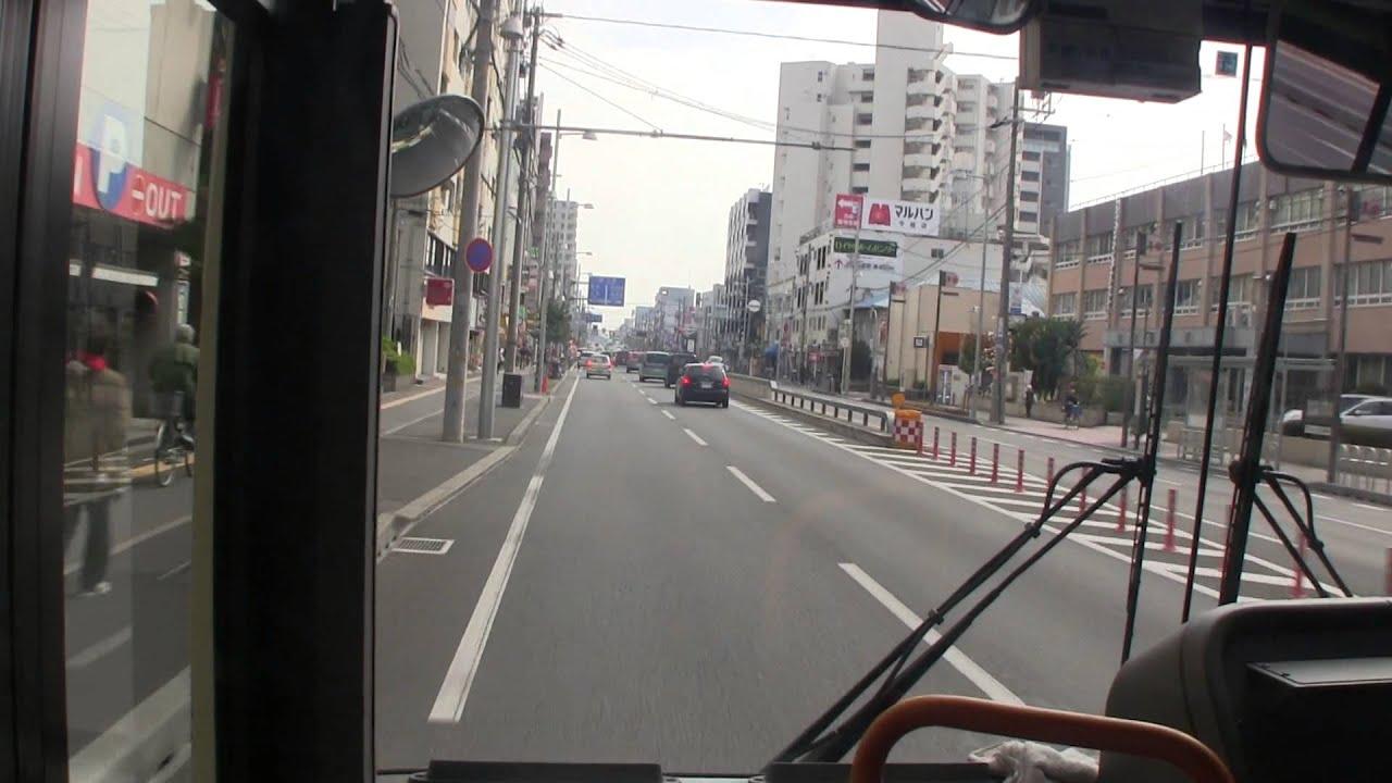 大阪市営バス 35系統 前面展望 ...