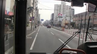 大阪市営バス 35系統 前面展望 守口車庫前~地下鉄今里~杭全