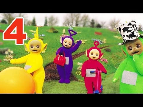 Teletubbies: Number 4 - Version 2 | 168 | Cartoons for Children