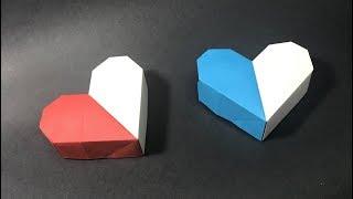 Origami Heart Gift Box / Christmas / Birthday