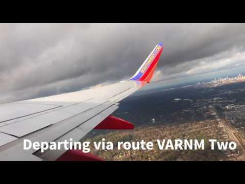 Southwest Boeing 737-700 Atlanta to St. Louis