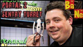 Portal 2 Usb Sentry Turret Desk Defender : Thinkgeek Nerd Toy