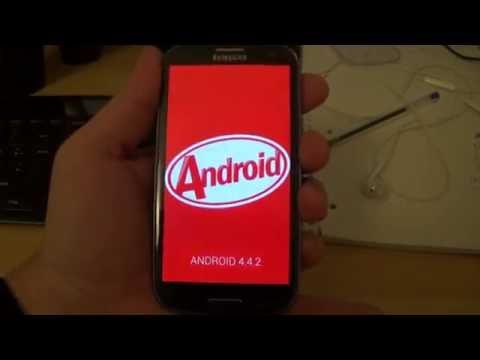 Откат прошивки Android 5.1.1 Lolipop до официальной Android 4.4.2 Kitkat