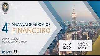 Debate: Prof. Guilherme Mello (Unicamp) e Prof. Marco Bonomo (Insper) • SEMEF Unicamp