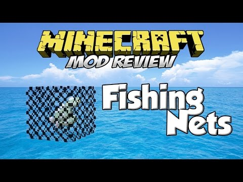 FISHING NETS MOD - ¡Redes De Pesca! [Forge][1.7.10][Español]