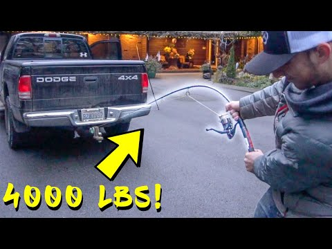 Worlds Strongest Fishing Rod TEST! - Ugly Stik GX2