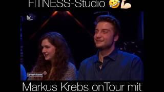 Markus Krebs im Fitnessstudio