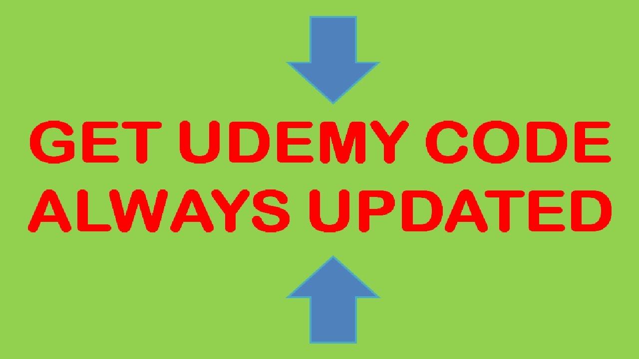 Get Udemy Code - Get Udemy Coupon Always Updated