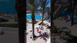 Отель Houda Golf and Beach Club: вид с балкона, июнь 2018