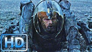 Инфицированный геолог нападает на корабль / Прометей (2012)