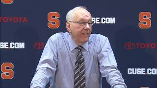 Jim Boeheim vs Old Dominion Postgame Video