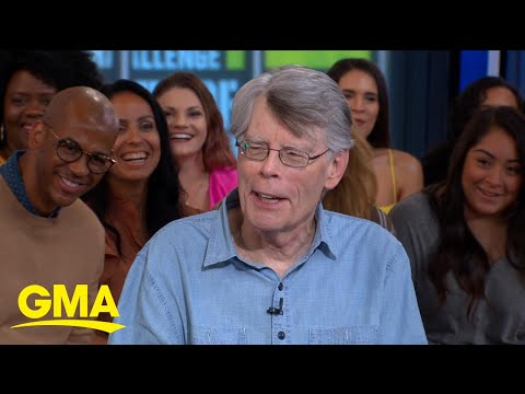 Stephen King tells us what scares him (Spoiler alert: elevators!) l GMA