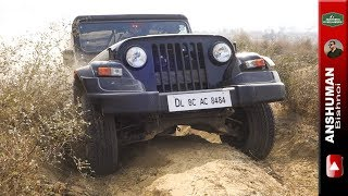 New Mahindra Thar vs Fortuner with Ironman kit. Obstacle 2. 181216