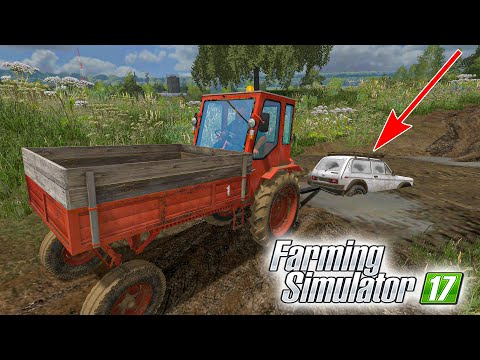 ВЗЯЛ У ПЕТРОВИЧА НИВУ И ПОПАЛ НА ДЕНЬГИ! FARMING SIMULATOR 17