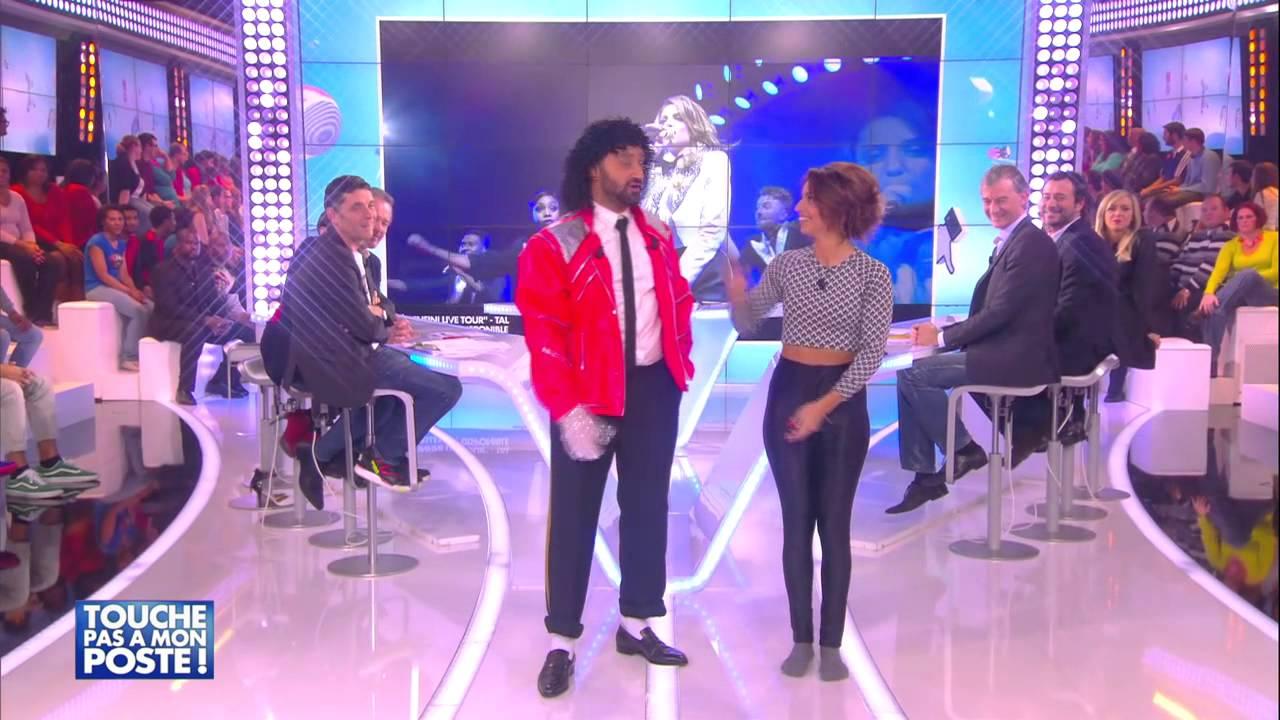 Tal apprend les pas de danse de Michael Jackson à Cyril Hanouna