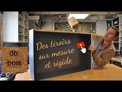 Comment fabriquer des tiroirs sur mesure