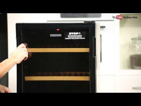 35 Btls Vintec Wine Storage Cabinet WV30SGME reviewed by product expert – Appliances Online