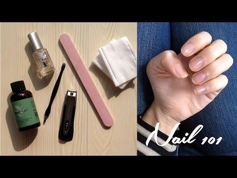 Nail 101 : 日常修甲程序 My nail care routine | 高比 Gobby