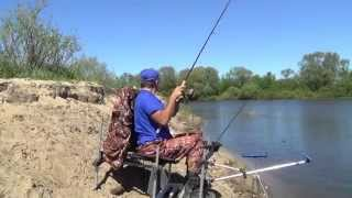 Река Десна, Выгоничи(Видео отчет о рыбалке. Выгоничи, район бывшего понтонного моста., 2014-05-10T06:44:28.000Z)