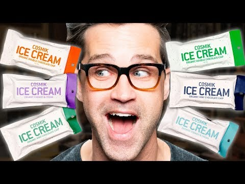 Astronaut Ice Cream Taste Test