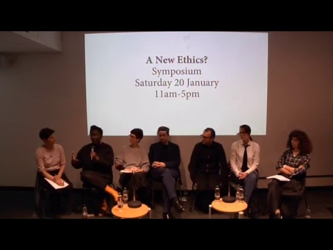 Symposium: A New Ethics?  The evolving responsibilities of creative practices in a changing world
