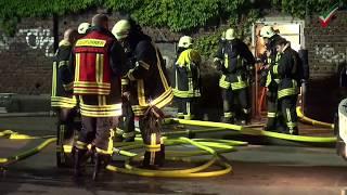 NRWspot.de | Gevelsberg – Brand auf Schrottplatz in alter Industriehalle – Rauch zieht bis Schwelm