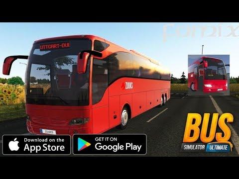 Автобус Simulator : Ultimate - первый взгляд, обзор (Android Ios)