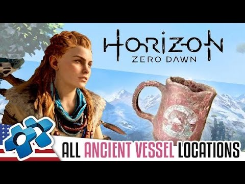 HORIZON ZERO DAWN : All Ancient Vessel locations