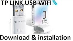 How to Download Driver and install TL-WN723N V1,V3 TP-Link