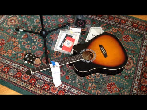 FREE DUMPSTER GUITAR Headstock Repair & Music Store Finds