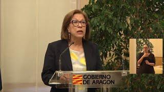 La consejera de Sanidad de Aragón, Pilar Ventura, dimite de su cargo