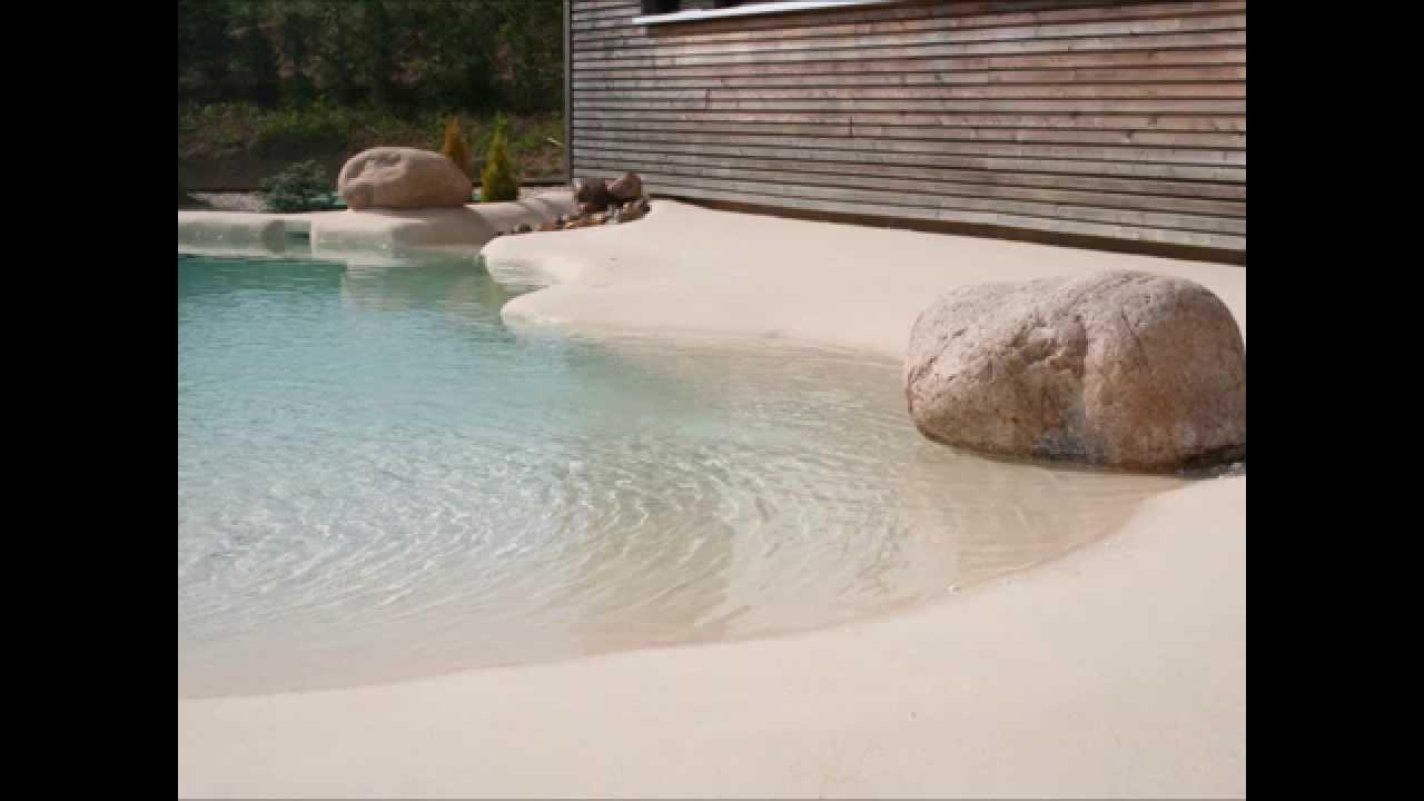 Una piscina de arena en tu jardn el paraso en tu casa  YouTube