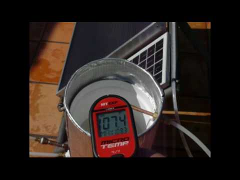 Heliatos Solar Water Heater for Home, RV, or Boat