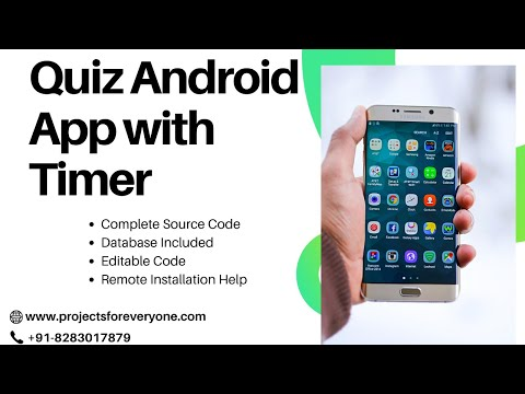 Aptitude / Quiz Android App with Source Code with Timer image