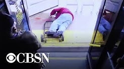 Elderly man dies after woman pushes him off Las Vegas bus